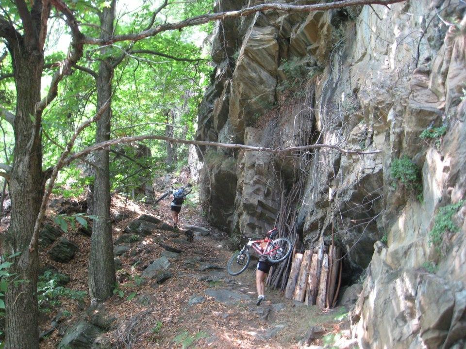 Sentiero fra borgata Rei e Bovile