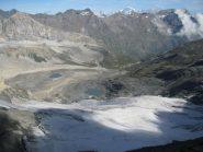 Il grande ritiro dei ghiacciai