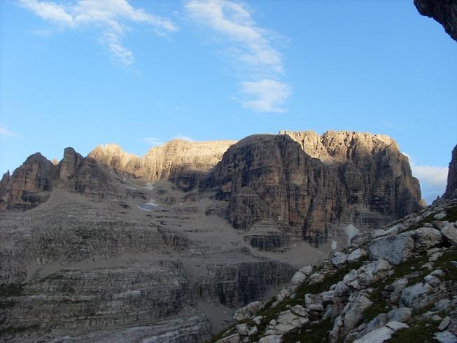 Tosa (Cima) Via normale della parete Sud-Est 2012-08-14