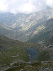 il vallone del sabbione versante italiano