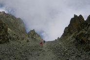 La divertente discesa dal Passo Fiorio-Ratti