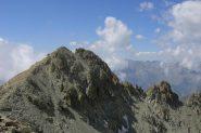 Punta Dante vista dalla cima della Michelis
