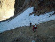 Quel che rimane del ghiacciaio Sella