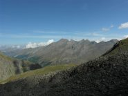 Panorama verso Punta Rognosa