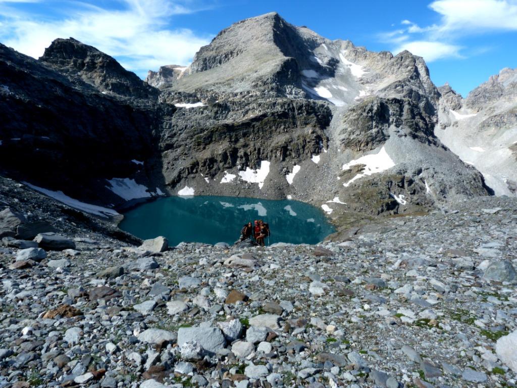 Agnello (Colle dell') dal Col du Petit Mont Cenis, anello Col Clapier e Vallon d'Ambin 2012-08-17