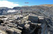 Dalla cima di Bard uno sguardo al percorso fatto