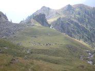 sopra S. Besso, verso il colle della Balma