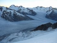 panorama dall'Aletschjoch