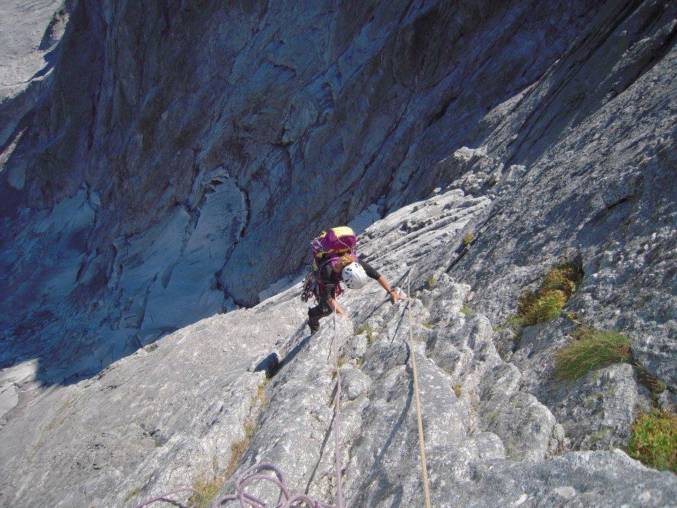 Badile (Pizzo) Via Cassin 2012-08-18