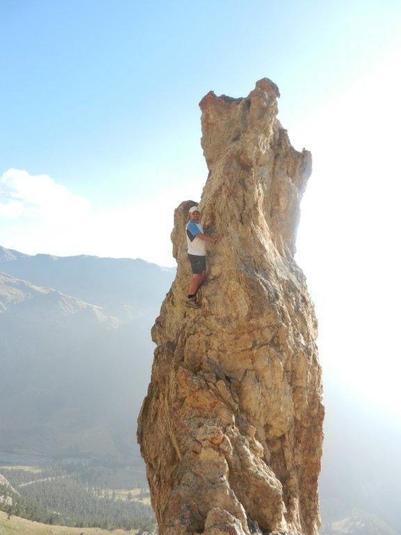 Tentativi di scalata senza scarpette