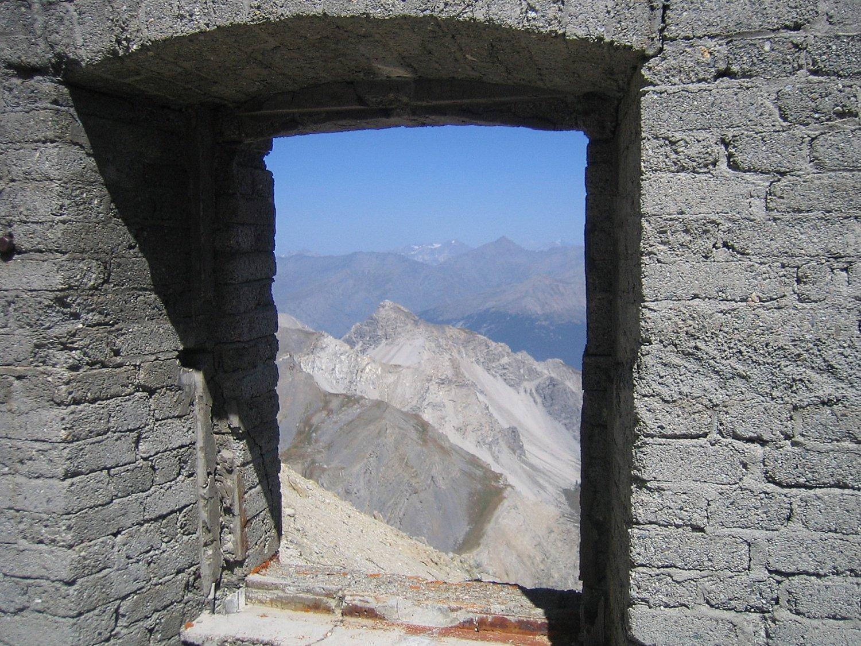 vista verso Punta Clotesse
