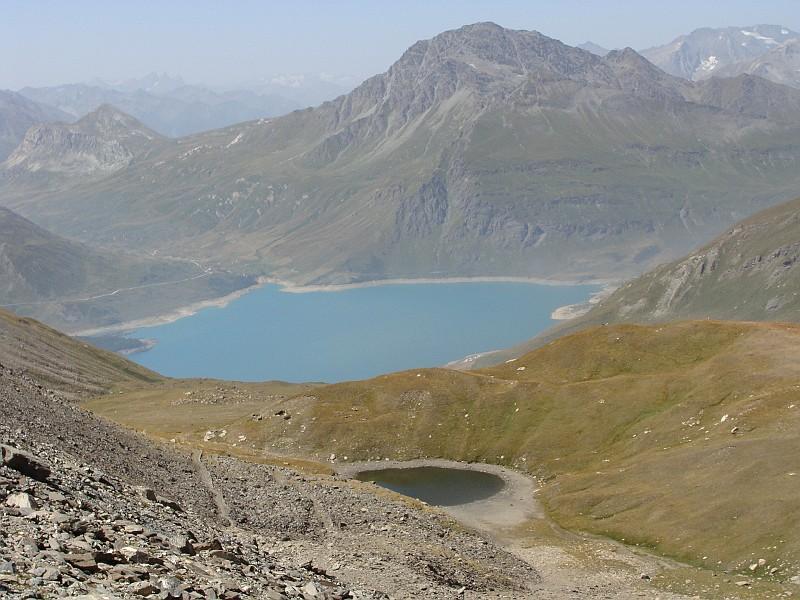 il lago clair e lago del moncenisio