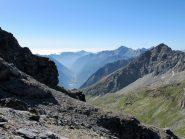 A dx il Corno Vitello, sullo sfondo Mont Nery e Valle di Gressoney