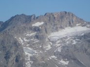 Penoso anche il ghiacciaio della Levanna