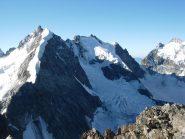 Bernina, Scersen e Roseg dalla vetta
