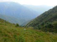 Prati di Ghina e sentiero per Cavrua