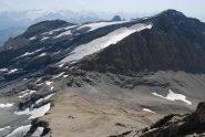 Colle del Breuil, Punta Ghiacciai e Miravidi dalla vetta della Fourclaz