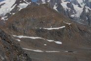 La Punta Lechaud dalla vetta della Fourclaz