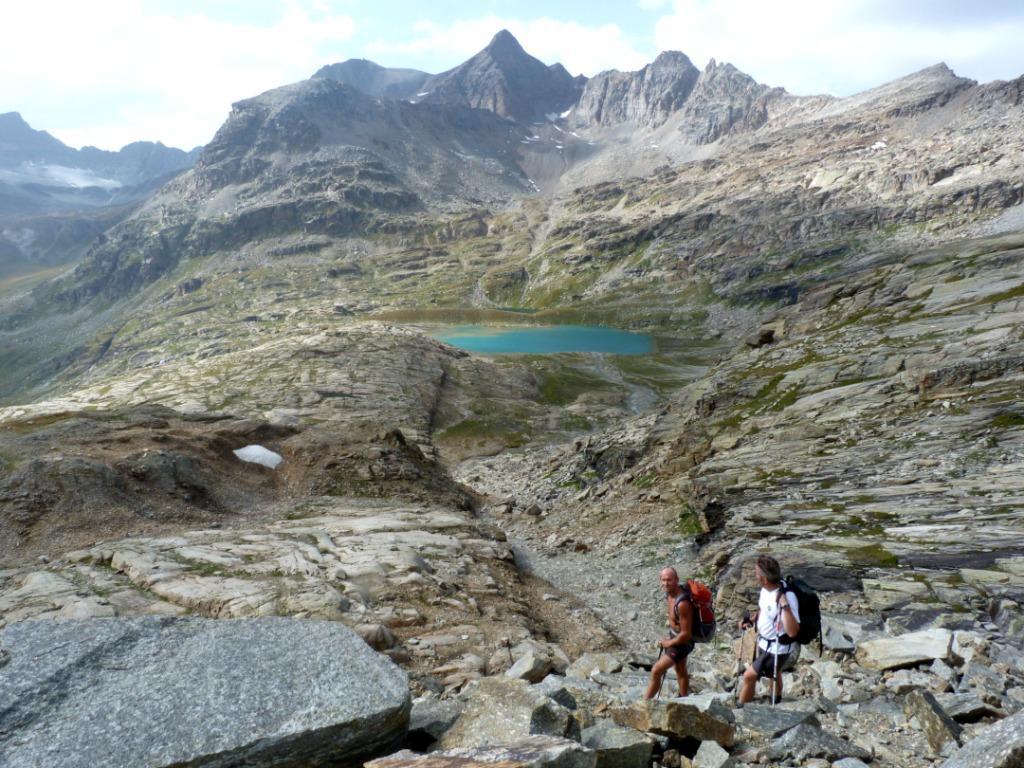 Calletta (Colle) Traversata da Forno Alpi Graie al Rifugio Carro 2012-08-20