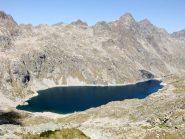 Il Lac du Basto dall'alto
