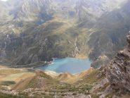 22 - scendendo verso il lago di Malciaussia, in alto a sx il Lago Nero