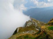 Nebbia in Vigezzo, sole in Valbasso