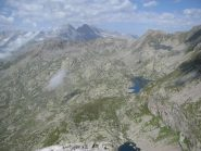 Panorama sul percorso di salita