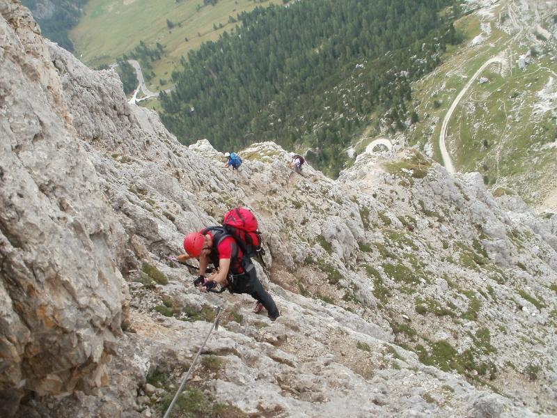 Bos (Col dei) Ferrata degli Alpini 2012-08-25