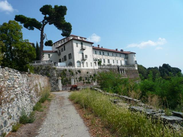 Pera Cunca anello da Ivrea per il castello di Masino e Santa Maria 2012-08-25