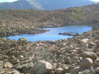 Il lago Mongioie.