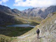 bella discesa sul lac des Cerces 2410 m.