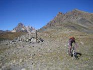 col de Chardonnet 2638 m.