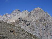 le Grand Galibier 3242 m. , la cima più alta del massiccio des Cerces