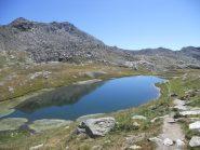 Il lago Ramella, detto lago dei cannoni