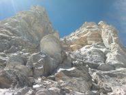 canale di sinistra dopo il primo salto roccioso