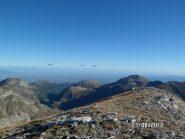 Panorama dalla cima delle Saline