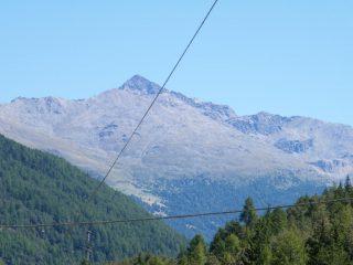 Monte confinale dalla valle