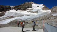 partenza da Punta Indren (27-8-2012)