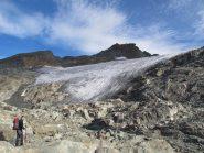la terminale del ghiacciaio al 2982012