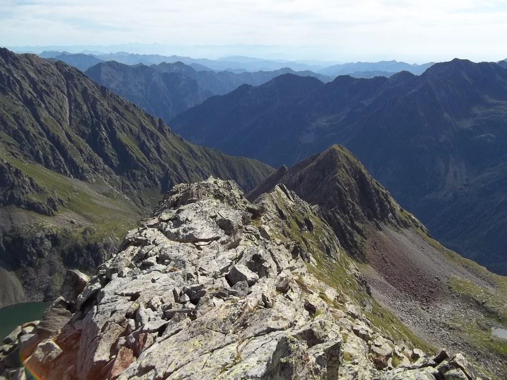 Rossa (Cresta) e Cresta di Rissuoloda Ca' di Janzo 2012-08-29