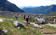 Passaggio all'alpe Laietto