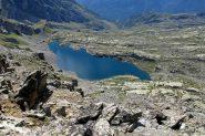 Gran lago di Unghiasse dalla punta omonima