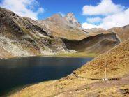 panorama dal lago bleu