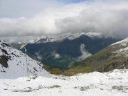 dal colle verso la Val D'Ayas