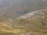 il lago dei Biecai dalla cresta