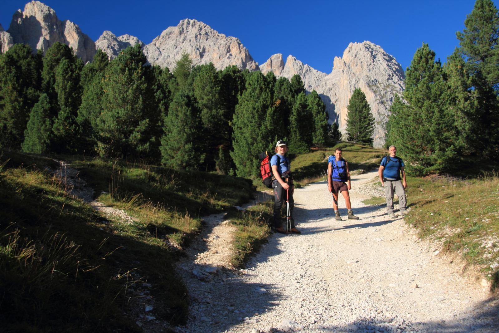 salendo verso il Rifugio Firenze...02 (7-9-2012)