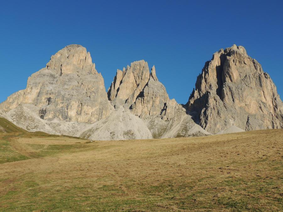 Sassolungo e Sassopiatto (Giro del) da Passo Sella 2012-09-08