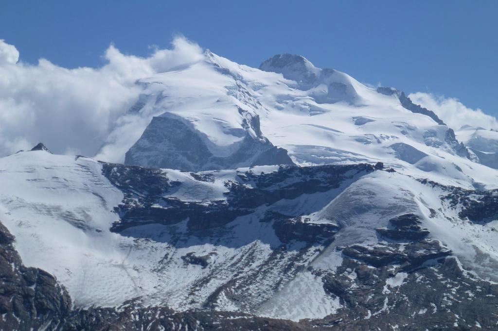 Il Monte Rosa visto da Nord