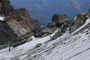 Il colle del Rutor ed i resti della capanna Deffeyes