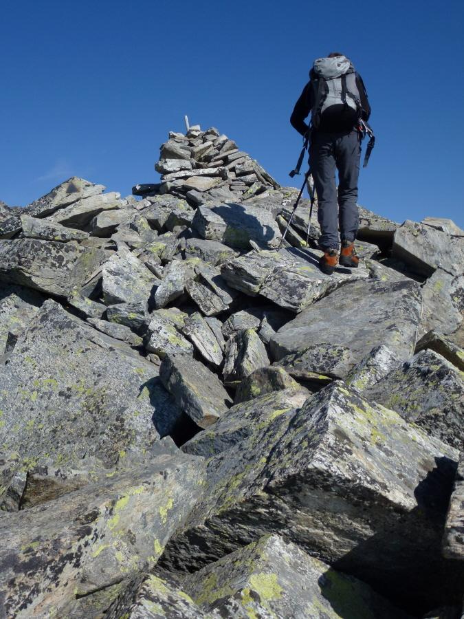 Tressi (Punta)da Tressi per il versante O e la cresta SE 2012-09-10